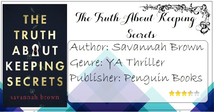 The Truth About Keeping Secrets Cover